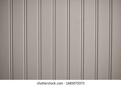 White Wainscoting Vertical Bead Board Background Texture