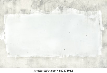 White wall background in the city