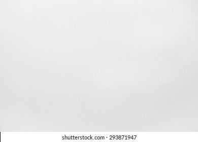 White Wall Clean Cement Background Textured