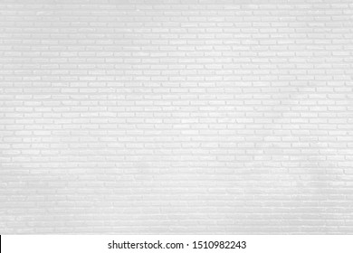 white wall texture with brick loft modern style in vintage room, used as background studio wall for display your products.