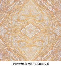 white wash yellow mende wooden board, abstract centered pattern