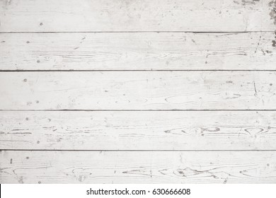 White washed wooden planks