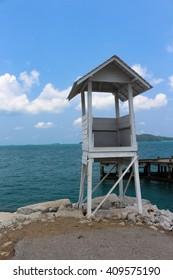 white watchtower