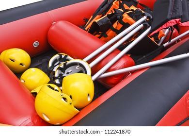 White Water Rafting Equipment