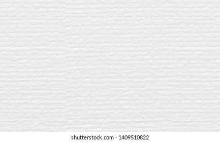 White watercolor paper texture background.