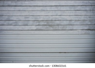 White Weatherboarding Textured Wall