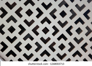White Weatherboarding Textured Wall Pattern