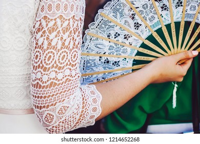 White Wedding Fan Images, Stock Photos & Vectors | Shutterstock