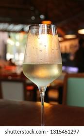 White wine in Mexico.