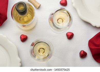 White Wine on White Linen