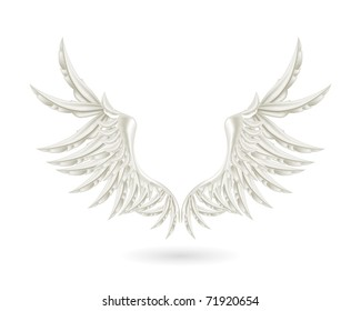 White wings, bitmap copy