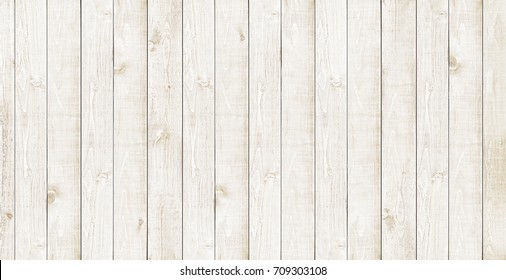White wood background. Rustic wooden wall texture background.