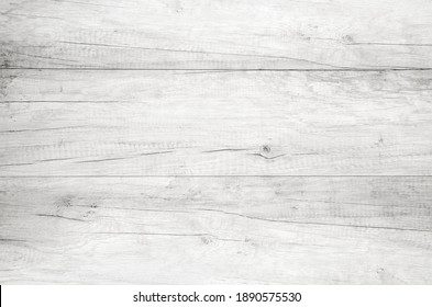 White wood background texture. Abstract wooden backdrop with space for text
