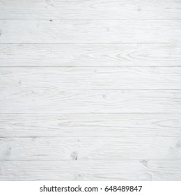 White wood background. Wooden backdrop. Top view.