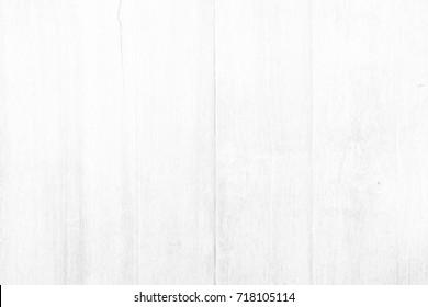 White Wood Fence Background.