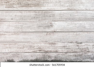 White wood panel background.