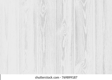 White Wood Plank Texture Of Pine Grain. Abstract Gray Scale Wooden  Background Wallpaper. Light