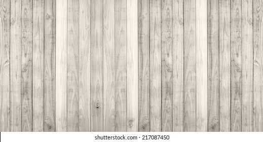 White wood plank wall texture background panorama