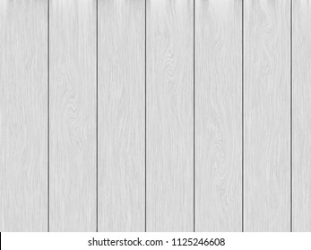 White wood planks texture background.