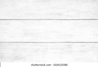 White wood texture background. White wooden table top view.