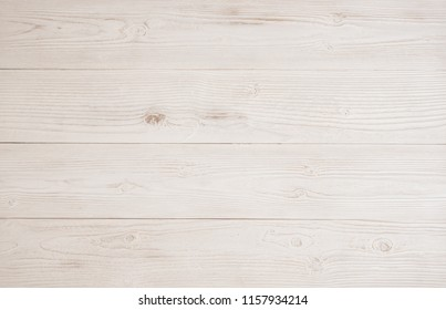 White wood texture background, Wooden table plank vintage light color pattern wall, Gray wallpaper with space.