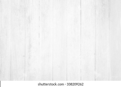 White wooden background.