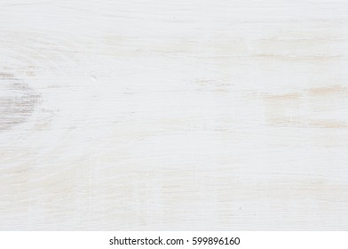 White wooden background close-up with visible texture