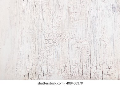 White wooden background with crackling effect High resolution Copy space Top view