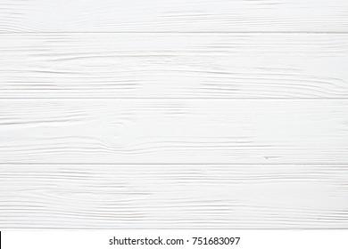 White wooden background, texture