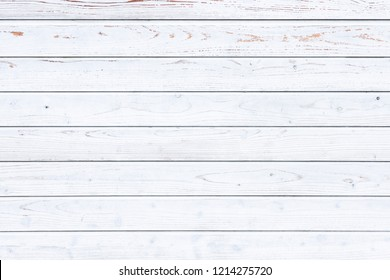 White wooden board texture background
