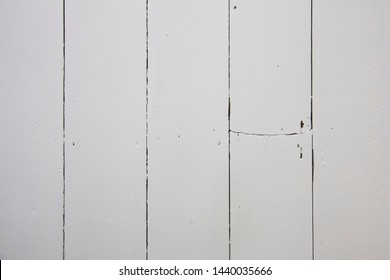 White wooden floorboards. Old floorboard texture background painted white