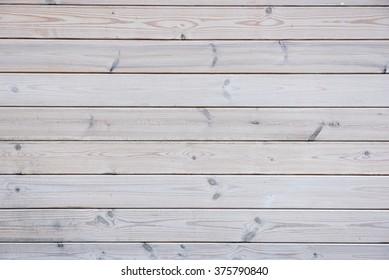 White wooden planks