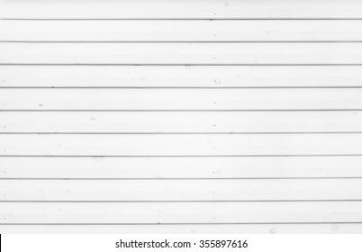WHITE WOODEN SLATS