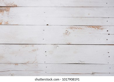 White wooden texture background copy space