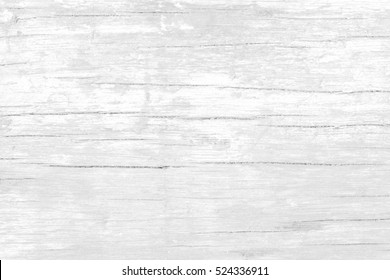 White Wooden Texture Board Background.