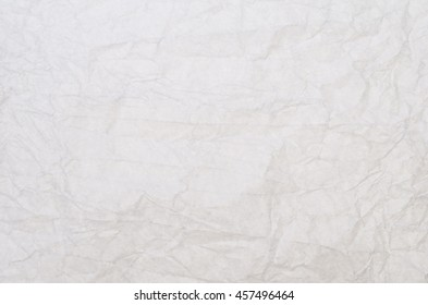 White Wrinkled Paper Textures Patterns