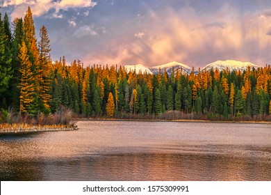 whitefish montana usa landscape mountains