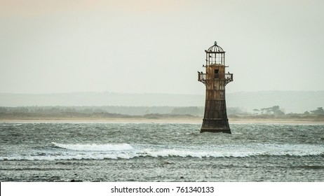 Whiteford Point Lighthouse is located off the coast at Whiteford Point near Whiteford Sands, on the Gower Peninsula, south Wales.