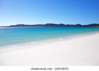 Whitehaven Beach in the Whitsundays Australia