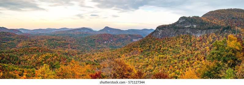 Whiteside Mountain in the Fall