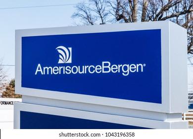 Whitestown - Circa March 2018: AmerisourceBergen Pharmaceutical Distribution Center. Walgreens (WBA) owns a 26 percent stake in AmerisourceBergen II