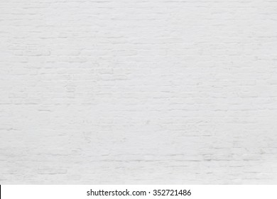 Whitewashed brick wall