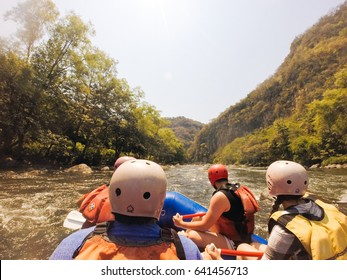 Whitewater rafting in Veracruz