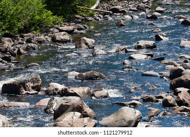 Whitewater Rock Garden - rocky stretch of a fast mountain river