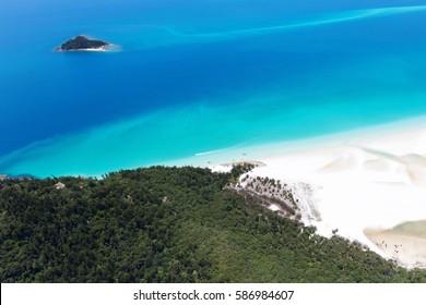 Whitsunday Island in Queensland Australia