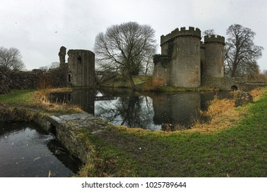 Whittington Castle near  Oswestry in winter