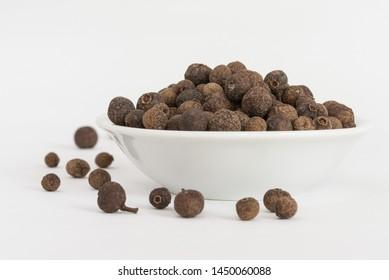 Whole Allspice in a Bowl
