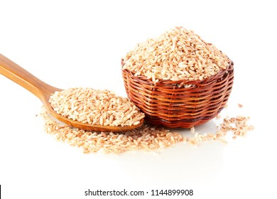 whole grain brown or red rice