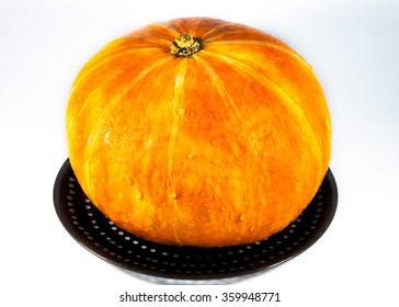 The whole pumpkin