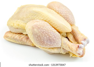 Whole and raw cockerel